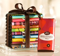 Seattle Chocolate Truffle Bars and Lindt too, as well as other top brands